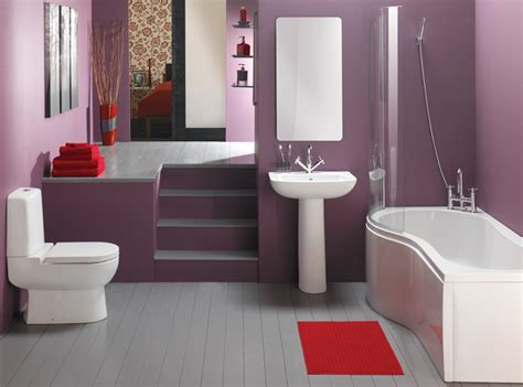 simple purple bathroom design home design picture