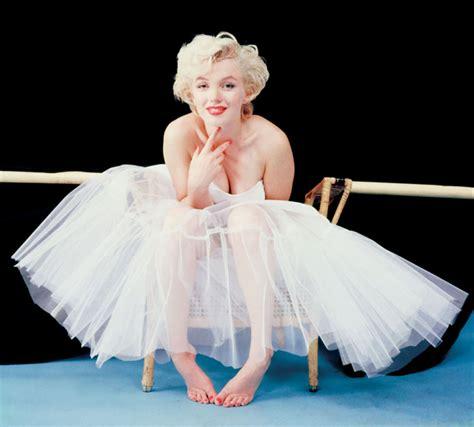 marilyn monroe the ballerina sitting 1954 marilyn in a tutu 183 a white carousel