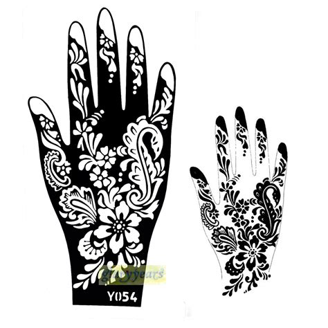 Tattoo Stencil Printer India | 1pc new cones natural plants pigment indian flowers henna