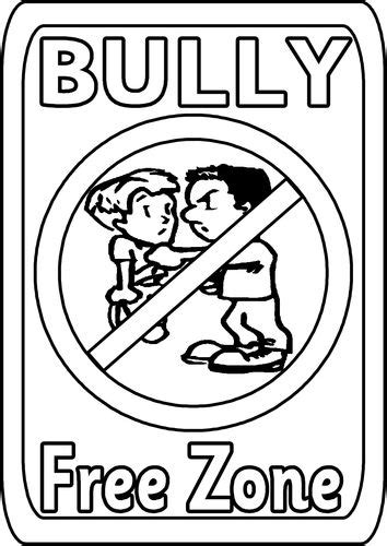 anti bullying coloring pages for kindergarten 106 best bullying images on pinterest bullying bullying