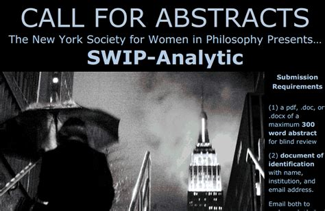 philosophy for graduate students metaphysics and epistemology cfa presenting swip analytic due 10 10 program in