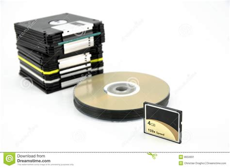 card cd card cd floppy stock image image 8650691