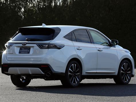new sports speedicars toyota harrier 2014 toyota harrier g sports concept suv f wallpaper