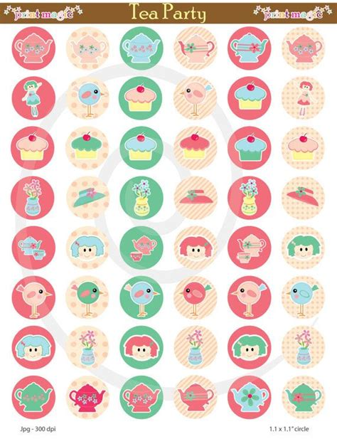 printable tea label 17 best images about tea party printables on pinterest