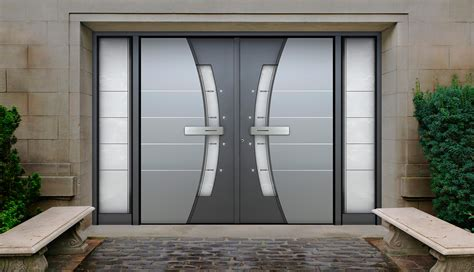 door entrance aluminium entrance doors thermo door sliding bi fold