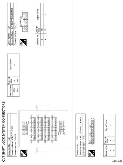 nissan sentra service manual wiring diagram cvt