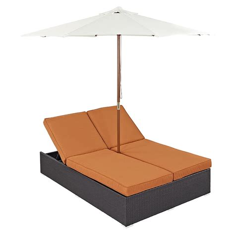 double outdoor chaise convene double outdoor patio chaise dcg stores