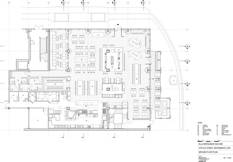 bar floor plans a floor plan ella s dining 03 bar area 04 lounge 07