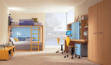 cool bedroom ideas for kids cool and ergonomic bedroom ideas for two children by