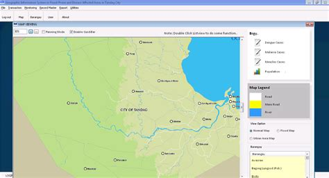 tutorial gis android geographic information system gis in flood prone and