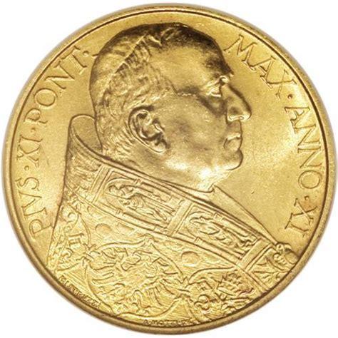 mat駻iel bureau professionnel troc echange pi 233 ce 100 lire or du vatican 1932 sur