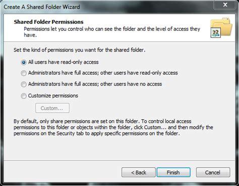 tutorial republic offline share folders in windows 7 with the shared folder wizard