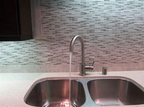 Tile For Kitchen by Kitchen Sink With Marble Tile Back Spash