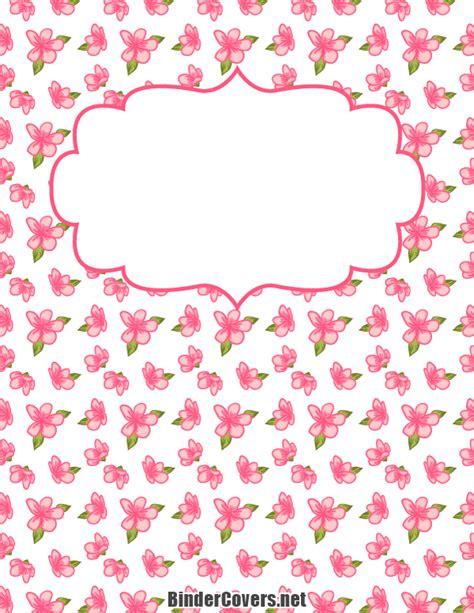 coloring book album zip printable pink flower binder cover
