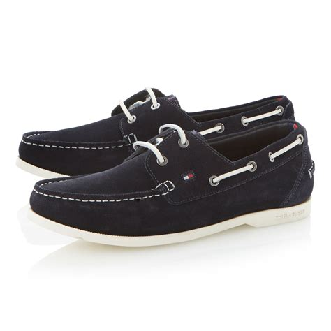 hilfiger shoes for hilfiger chino 9b lace up white sole boat shoes in