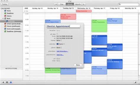 I Calendar Windows 5 Ical Tips You May Not Known About