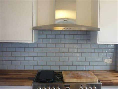 details about light blue metro kitchen bathroom tiles x