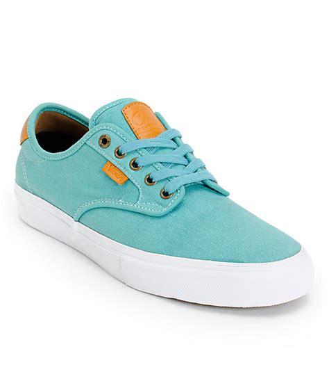 vans chima pro teal canvas skate shoes mens at zumiez pdp