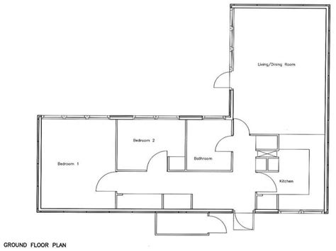 two bedroom house plan 2 bedroom bungalow floor plan 2 story bungalow house plans