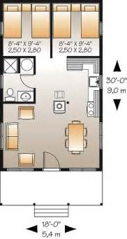 2 Bedroom Home Plans by D 233 Tail Du Plan De Maison Unifamiliale W1905