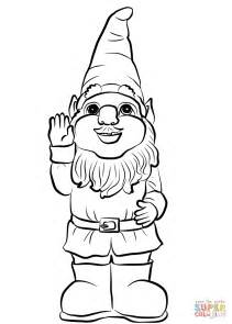 coloring page garden gnome garden gnomette coloring pages free printable garden