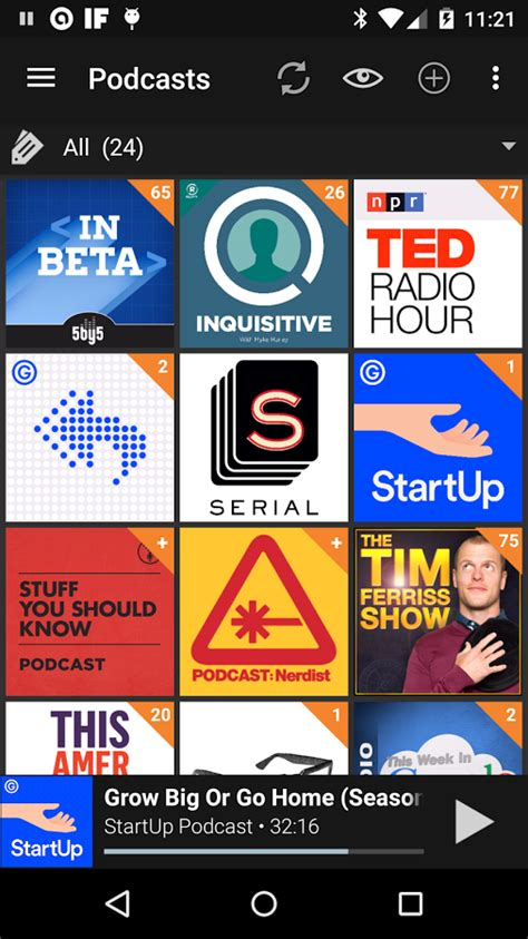 podcast app android podcast addict donate android apps on play