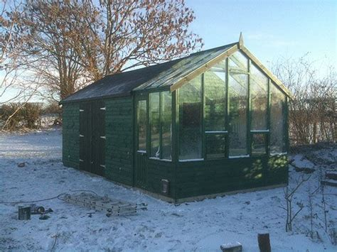 Storage Shed Greenhouse by Greenhouse From A Shed Storage Shed With Greenhouse