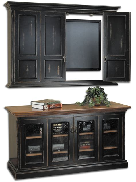 Tv Cabinets With Doors For Flat Screens Flat Screen Tv Cabinets With Doors Shelves Storage Hillsboro Flat Screen Tv Wall
