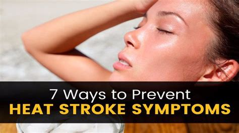 7 Ways To Prevent by 7 Ways To Stay Cool Prevent Heat Stroke Symptoms