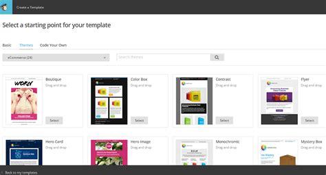 mailchimp ecommerce templates avis test complet de mailchimp