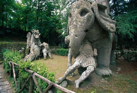 giardino dei mostri viterbo bomarzo e il parco dei mostri il sacro bosco vicino