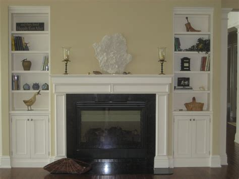 cabinets around fireplace design built in fireplace living room shelves with white wooden