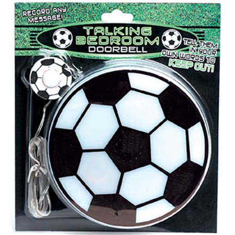 bedroom doorbell talking football bedroom doorbell novelty gift review