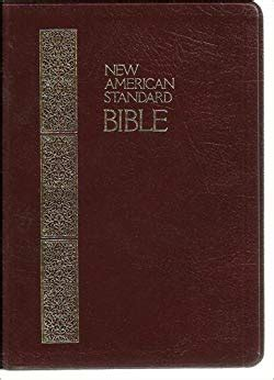 Holy Bible New American Standard Giant Print Reference