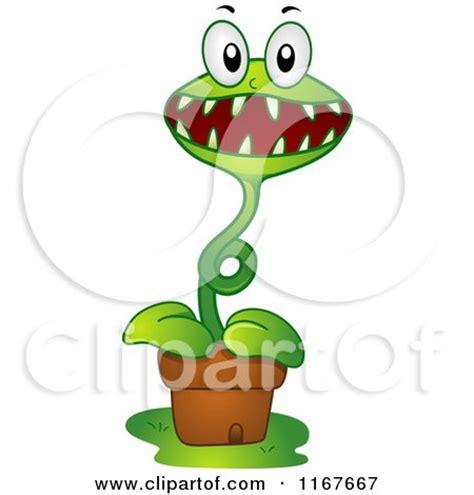 royalty free rf carnivorous plant clipart illustrations