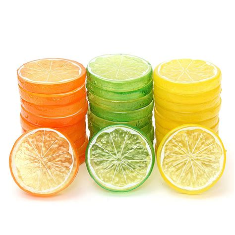 Decorative Lemon Slices by Buy Wholesale Artificial Lemon Slices From China