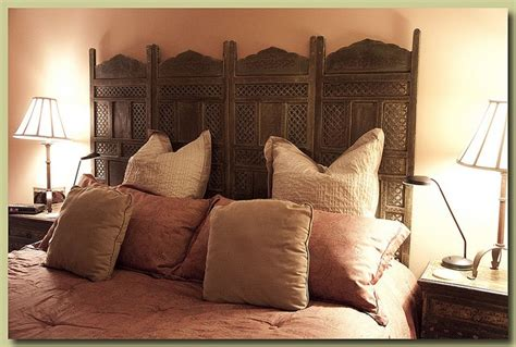 Room Divider As Headboard by Room Divider As Headboard For The Home