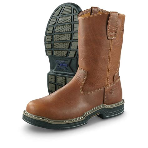 pull on work boots wolverine 10 quot steel toe pull on work boots 618743
