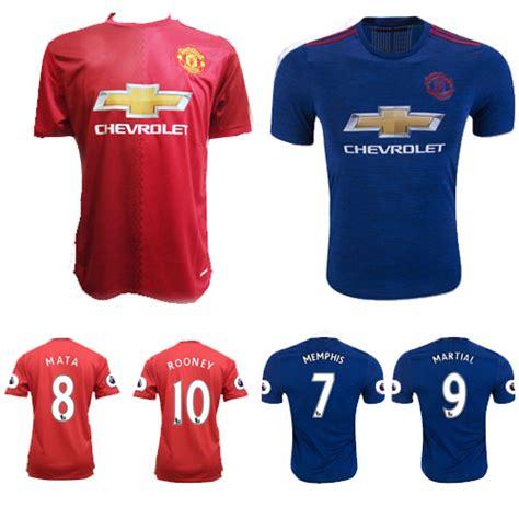 Harga Adidas Manchester jersey manchester united home lengan panjang 2017 adidas