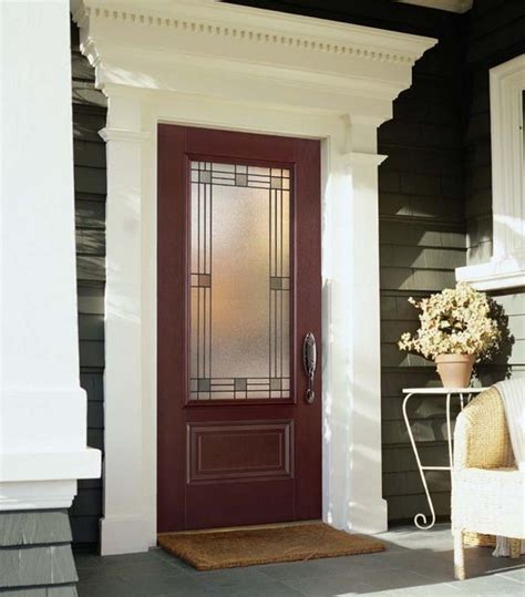Decorative Exterior Door Trim Front Door Casing Ideas Studio Design Gallery Best Design