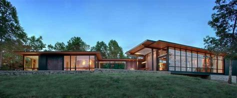 modern lake house contemporary us lake house defined by openness and