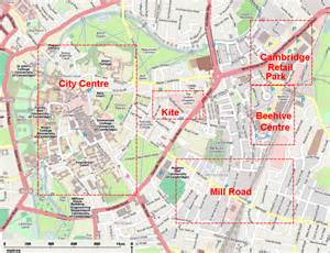Cambridge England Map by Cambridge England Map Submited Images