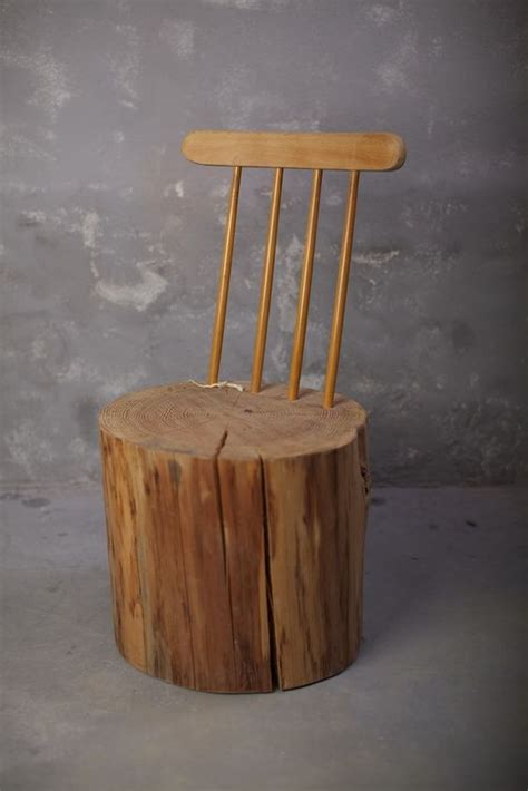 Turn Chair Into Bar Stool by Turn Tree Stumps And Logs Into Unique Chairs Stools Home