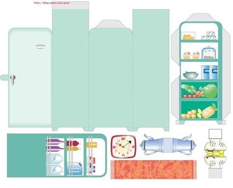 Meuble Cuisine Evier 2620 by 종이접기 냉장고 네이버 블로그 종이공예 Maison
