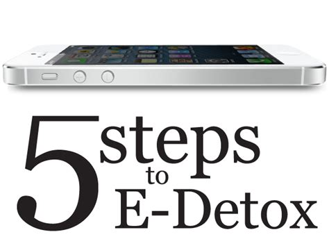 Steps To Detox From by 5 Steps To E Detox Books