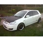 Toyota RunX Corolla Modified