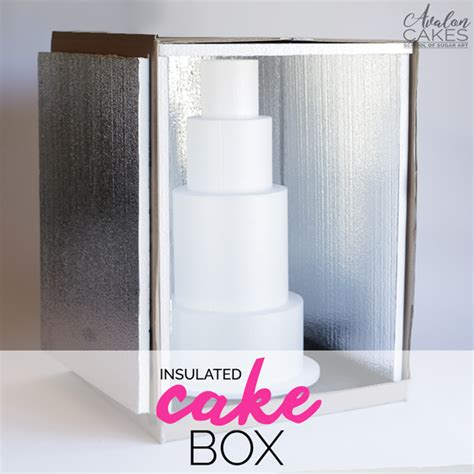 Wedding Cake Delivery Boxes by How To Make An Insulated Cake Delivery Box Tutorial