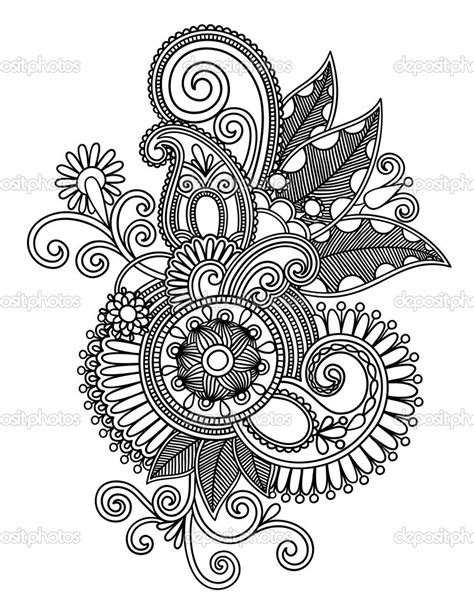 white pattern drawing black and white design drawing google search paisley
