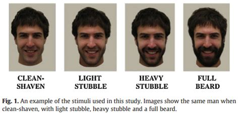 scruffy vs soft pubic hair the more people grow facial hair the less attractive it is
