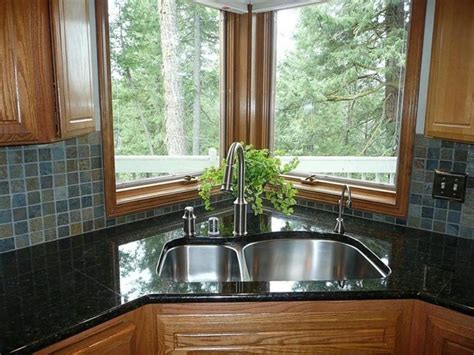 kitchen designs with corner sinks 10 tips for corner kitchen sink ward log homes